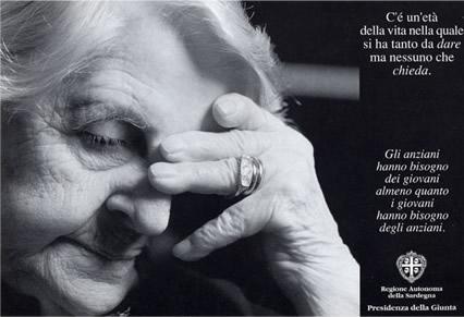 Campagnia in favore degli anzianisoli