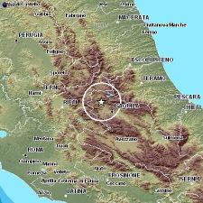 Epicentro Terremoto Abruzzo