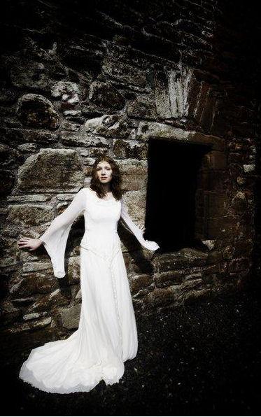 abito matrimonio celtico