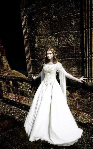 Amato Vestiti da sposa celtici e fantasy QM33